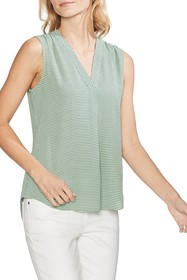 Vince Camuto Linear Motion Blouse (Regular & Petit