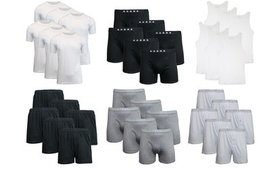 Galaxy by Harvic Men's Undershirts or Boxer Briefs