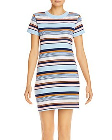 FRENCH CONNECTION - Byatt Striped Tee Dress