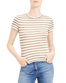 Theory - Striped Tiny Tee