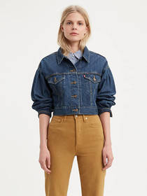 Levi's Pleated Trucker Jacket