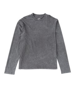 Cremieux Jeans Crew Neck Solid Long-Sleeve Tee