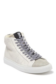 P448 E9 Star 2.0 High-Tip Leather Sneaker