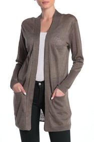 Brochu Walker Sidell Linen Blend Cardigan