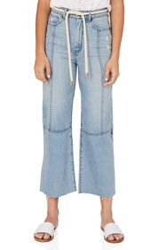 Habitual Rhys Crop Wide Leg Belted Pants