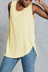 Frank & Eileen Tee Lab Relaxed Asymmetric Raw Hem