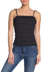 cupcakes and cashmere Magna Stripe Tank Top