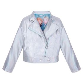 Disney Frozen 2 Moto Jacket for Girls