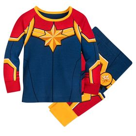 Disney Marvel's Captain Marvel Costume PJ PALS for