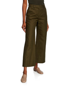 Co High-Rise Cropped Work Pants