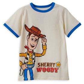 Disney Sheriff Woody T-Shirt for Boys