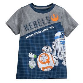 Disney BB-8 and D-O Fashion T-Shirt for Kids – Sta