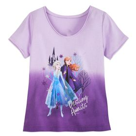 Disney Anna and Elsa T-Shirt for Girls – Frozen 2