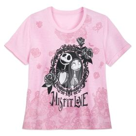 Disney Jack Skellington and Sally T-Shirt for Wome