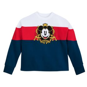 Disney Mickey Mouse and Pluto Collegiate Sweatshir
