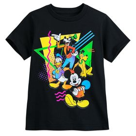 Disney Mickey Mouse and Friends Retro T-Shirt for