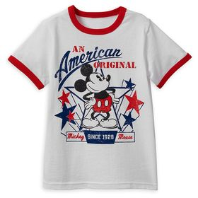 Disney Mickey Mouse Americana T-Shirt for Boys