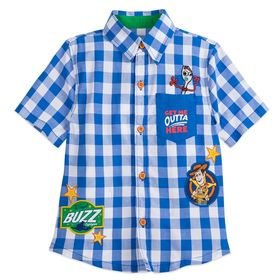 Disney Toy Story 4 Woven Shirt for Boys