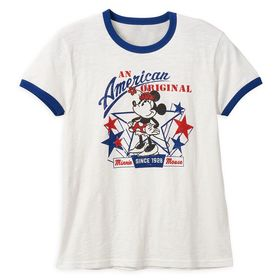 Disney Minnie Mouse Americana T-Shirt for Women