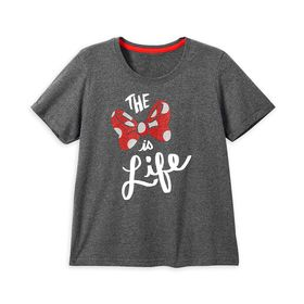 Disney Minnie Mouse ''The Bow Is Life'' T-Shirt fo