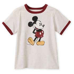 Disney Mickey Mouse Ringer T-Shirt for Boys