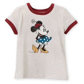 Disney Minnie Mouse Ringer T-Shirt for Girls