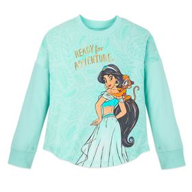 Disney Jasmine Long Sleeve T-Shirt for Girls