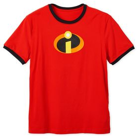 Disney Incredibles Logo Ringer T-Shirt for Adults