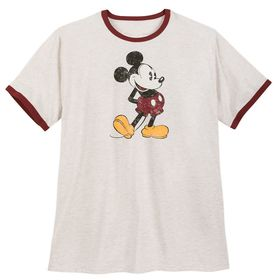 Disney Mickey Mouse Ringer T-Shirt for Men – Exten
