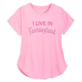 Disney Fantasyland Jeweled T-Shirt for Women