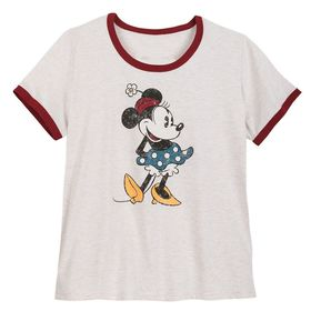Disney Minnie Mouse Ringer T-Shirt for Women – Ext