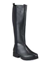 Donald J Pliner Ryker Leather Riding Knee Boots