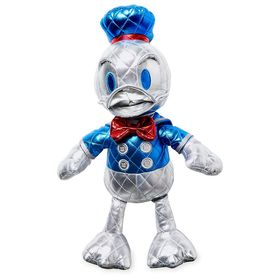 Disney Donald Duck 85th Anniversary Metallic Plush
