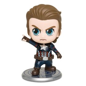 Disney Captain America Cosbaby Bobble-Head Figure