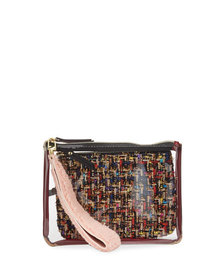 Neiman Marcus Wristlet and Pouch Duo
