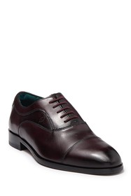 Ted Baker London Cap Toe Leather Oxford
