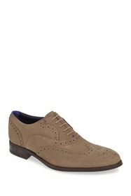 Ted Baker London Nelsnn Wingtip Suede Oxford