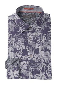 Ted Baker London Floral Dot Modern Fit Dress Shirt