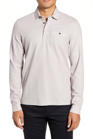 Ted Baker London Dunes Slim Fit Long Sleeve Polo