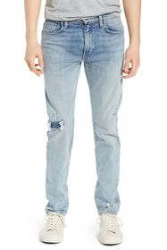 LEVIS MADE AND CRAFTED 512 Distressed Skinny Jeans