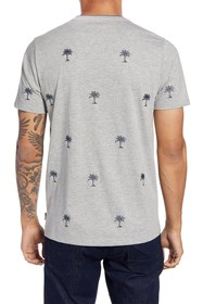 Ted Baker London Coconut Slim Fit Embroidered Palm