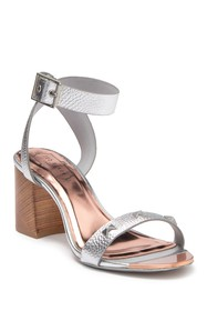 Ted Baker London Biah Leather Studded Block Heel S