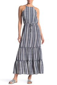 MAX & ASH Striped Maxi Dress