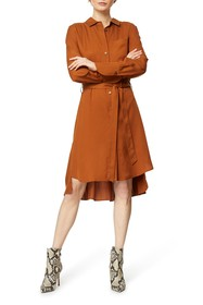 Habitual Rae Long Sleeve Shirt Dress