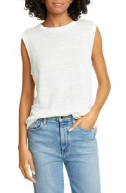 Jenni Kayne Knit Linen Shell Tank Top
