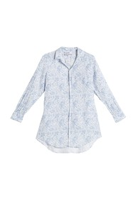 FRANK & EILEEN Mary Floral Linen Button Down Shirt