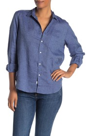 FRANK & EILEEN Eileen Linen Button Down Shirt