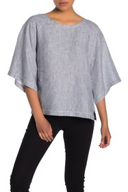 Fifteen Twenty Quarter Sleeve Linen Top