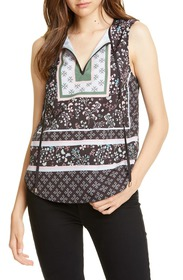 Ted Baker London Framel Split Neck Tank Top