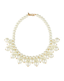 Kenneth Jay Lane Pearly Collar Necklace